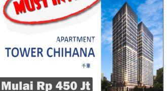 Apartemen Chihana, Vasanta Innopark Cikarang (MUST INVEST!)